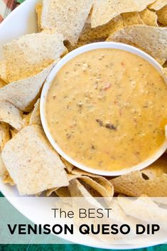 If you are having a tailgate or game day party this Venison Queso Dip is the best! Venison that doesn't taste like venison. Venison Meatballs, Venison Chili, Venison Burgers, Deer Recipes, Game Recipes, Drink Recipes, Best Queso Recipe, Venison Recipes, Kitchens