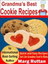 Grandma's Best Cookie Recipes (Grandma's Best Recipes)  By Marg Ruttan