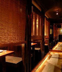 View the photos of romantic interior and authentic food/sake offered by Zenkichi, an award-winning Japanese brasserie in Brooklyn, New York. Deco Restaurant, Restaurant New York, Restaurant Offers, Restaurant Design, Best Japanese Restaurant, Chinese Restaurant, New York Restaurants, Little Palm Island, Sushi