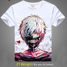 Tokyo Ghoul short-sleeve T-shirt 28.30 & FREE Shipping  Anime Weapon #anime #manga