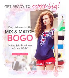 mix and match bogo