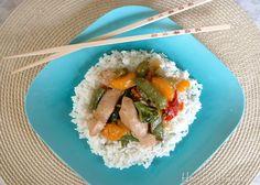 Chinese Cuisine for the Olympics: Mandarin Chicken Stir-Fry Recipe