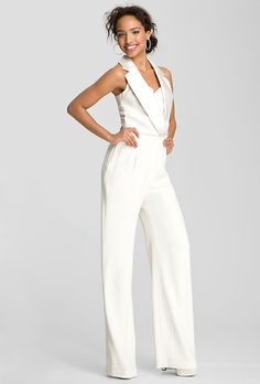 Affordable Wedding Dresses (Under $1,000!). TheiaSatin tuxedo jumpsuit, style 527190, $850, Theia, available at NordstromSee more Theia wedding dressesFeatured In: Affordable Wedding Dresses (Under $1,000!)Photo: Courtesy of Nordstrom