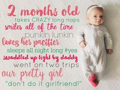 Monthly pics of baby Newborn Pictures, Baby Pictures, Baby Photos, Baby E, Diy Baby, Baby Memories, Baby Keepsake, New Baby Girls, Everything Baby