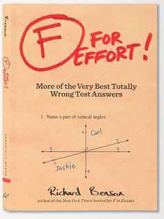 F for Effort :: the mental_floss store