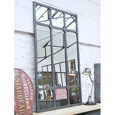 Miroir atelier xl en m tal forme arcade decoclico factory for Miroir atelier chehoma