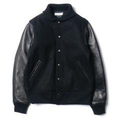 HeadPorter Plus Varsity Jacket Black