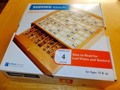 Perkins delux braille suduko game for blind SUDUKO TOUCH | eBay