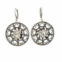 $89.90 Silver earrings with zircons
