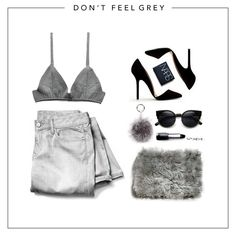 Don't Feel Grey - Combine your fury bits with your grey & black pieces of sexy clothing for your dinner date or your casual meet up!