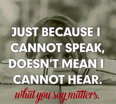 Be cognizant and respectful. Please don't be ignorant. Little ears are everywhere and words can scar.
