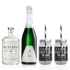 Cocktail – To Go  GIN + SEKT + ZITRONE