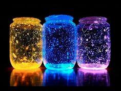 Aprenda como fazer este projeto com materiais super simples! Materiais: Pote de vidro Luvas de borracha Pulseiras d...