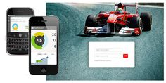 Criação da plataforma de gestão de eventos do Santander. Com acesso 100% online realizado por desktop e mobile  // GP Brasil de F1  / Cliente: SD Comunicação - Santander