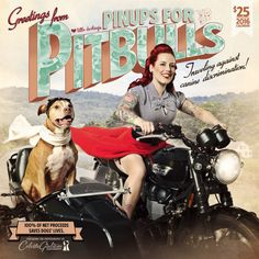 Pinups for Pitbulls 2016 calendar