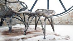 Sika Design Originals Rattanhocker Monet kaufen im borono Online Shop Monet, Renoir, Home Garden Design, Wishbone Chair, Cabana, Decoration, Taupe, The Originals, Antiques
