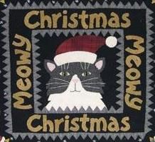 Meowy Christmas project book by Bonnie Sullivan at All Through the Night