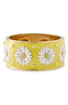 kate+spade+new+york+kate+spade+daisy+enamel+bangle+bracelet+available+at+#Nordstrom