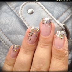 Drip...  | See more nail designs at http://www.nailsss.com/acrylic-nails-ideas/2/