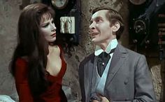 Fenella Fielding and Kenneth Williams: Carry on Screaming