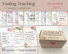 November 2017 Visiting Teaching Message lds Printable