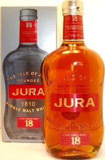 Whisky merchants: Jura 18 year old Single Malt Scotch Whisky