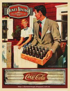 DUNA´S VINTAGE: Coca-Cola 60´. Duna´s Vintage, For Sale 150€.