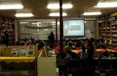 Campaña de Educación Vial na unidade I do CPI Tomás de Lemos para os nenos mais grandeciños. Recibindo unha charla daPolicía Local. Febreiro 2015 (3)