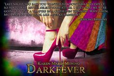 """Jericho Barrons and MacKayla """"Mac"""" Lane aka """"Rainbow Girl"""" ❤️ Fever Book, Fever Series, Best Quotes From Books, Book Quotes, Celtic Heroes, Jericho Barrons, Paranormal Romance Series, Karen Marie Moning, Fantastic Quotes"""