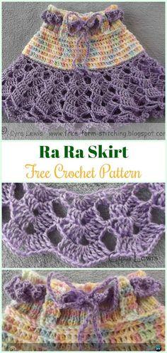 Crochet Ra Ra Skirt Free Pattern - #Crochet Girls #Skirt Free Patterns