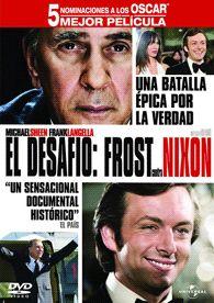 El Desafío : Frost contra Nixon (2008) EEUU. Dir.: Ron Howard. Drama. Biográfico. Xornalismo. Anos 70 – DVD CINE 1708