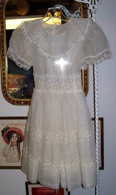 Vintage Louise Frocks 1950 Communion Dress by LavenderPathAntiques, $30.00