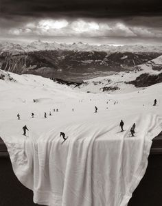 Surreal image by US photographer Thomas Barbey.
