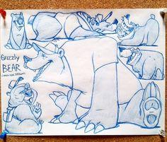 Resplendent Cartoon Drawing Tips Ideas Comic Drawing, Cartoon Drawings, Animal Drawings, Character Drawing, Character Design, Digital Art Anime, Grizzly Bears, Animal Doodles, Graffiti Characters