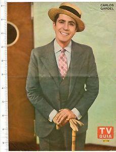 "CArlos Gartrel - Argentian singer - ""Tango King"""