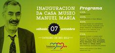 Inauguración da Casa Museo Manuel María