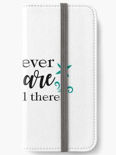 iPhone Wallets - Wherever you are Be all there - Wallets, Cases & Skins. Order now!  #redbubble #WalletsCasesSkins #WhereverYouAreBeAllThere #RetroPartySayings #AwesomeHumorousQuotes
