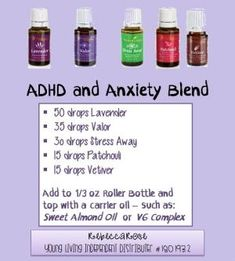 Young Living Essential Oils, ADHD and Anxiety Roll-On Blend, Sign up for Young Living Essential Oils referred by Independent Distributer # 1801932 - Rebecca Rose by annabelle