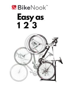 Bike/bicycle floor stand that stores your bike vertically. Perfect for small apartment, dorm and garage bike storage Lowrider Bicycle, Trike Bicycle, Wooden Bicycle, Bicycle Rack, Bicycle Wheel, Bicycle Decor, Bicycle Shop, Motorized Bicycle, Bicycle Parts