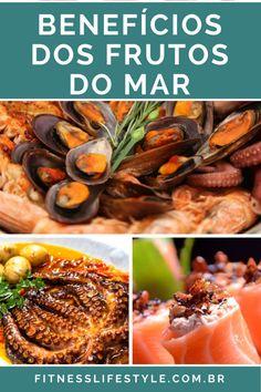 Veja os benefícios dos frutos do mar para sua saúde