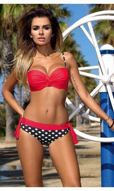 2016 swimsuit bikini neoprene bikini high waist swimsuit swimwear women bikini push up costumi da bagno donna | OK Fashion