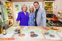 Showing Mark Steines and Cristina Ferrare about Omega 3 fatty acids - how to get them and which ones are best! Watch Home & Family on Hallmark Monday 4/13 at 10a