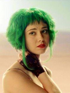 Ramona Flowers With Green Hair Scott Pilgrim Vs The World