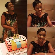 Throw back to when the Lapizulian turned 40wearing one of our best sellers. #style #stylish  #womensfashion #ankarafashion #trendy #lovely #tbt #picoftheday #instafashion #ootd #designer #cake #happy #africanprints #lapizulidesigns #40shadesofgrace