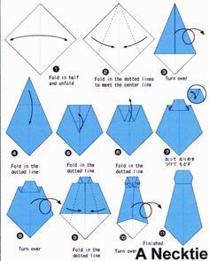 corbatas  de papel