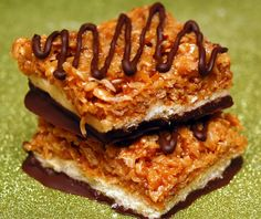 HOMEMADE COCONUT BARS THAT WILL ROCK YOUR WORLD!