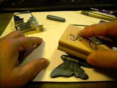 ▶ Polymer Clay Butterfly Pendant Tutorial - YouTube