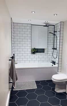 Attic Bathroom, Small Bathroom, Bathrooms, Victorian Terrace House, Victorian Homes, Bathroom Inspiration, Bathroom Inspo, Bathroom Ideas, House Shelves