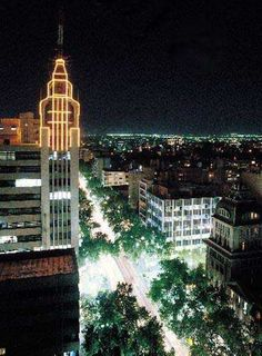 Mendoza at night