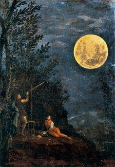 Donato Creti, Astronomical Observations: The Moon, (1711)